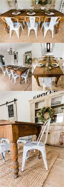 Farmhouse Style Dining Room Sets 1000 Ideas About Farmhouse Dining Rooms On Pinterest Farmhouse