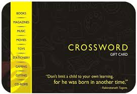 Buy Crossword Gift Cards | Crossword Gift Vouchers Online ...