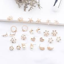<b>2019</b> New Fashion Women Cute Simulated Pearl Beads Flower ...
