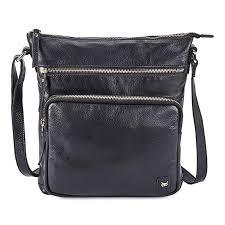 Wise Owl Accessories Women's Leather Crossbody ... - Amazon.com