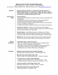 sample resumes photography resume template