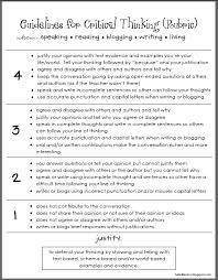 critical thinking skills   Scribd