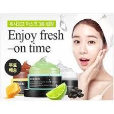 Антивозрастная <b>маска для лица</b> Mizon <b>Enjoy</b> Fresh On-Time ...