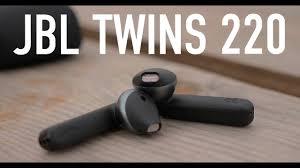 Обзор <b>JBL T220</b> TWS. Звук это главное! - YouTube