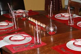 Holiday Dining Room Decorating Valentines Day Decorations Luxury Red Floral Centerpieces On