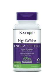 Natrol <b>High Caffeine</b> 200 MG - 100 Tablets for sale online | eBay