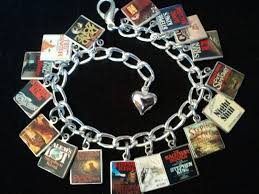 best images about stephen king pennywise the stephen king book charm bracelet 17 classic stephen king book cover charms