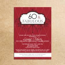 designs th birthday invitation wording 60th birthday invitation card wording