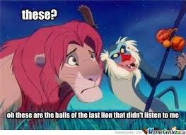 Lion King Memes. Best Collection of Funny Lion King Pictures via Relatably.com