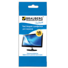 <b>Чистящие</b> салфетки для экранов <b>BRAUBERG</b> | Отзывы ...