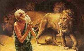 Image result for daniel in the lions den