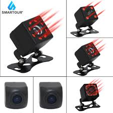 Smartour Car Rear View <b>Camera</b> 8 LED Night Vision Wide Angle ...