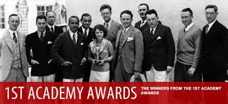 「1929, the first academy awards ceremony in hollywood california」の画像検索結果