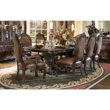 Formal Dining Room Sets For 8 Aico Chairs Aico 9pc Essex Manor Formal Dining Table Amp 8