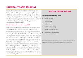 sea tech curriculum hospitality tourism