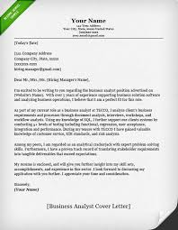 accounting  amp  finance cover letter samples   resume geniusbusiness analyst cover letter