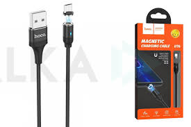 Кабель USB micro USB <b>HOCO U76 Fresh</b> magnetic charging ...