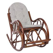 <b>Кресло</b>-<b>качалка Classic</b> с подушкой