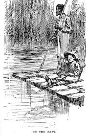 the characteristics of huck finn from the adventures of    traditional raft  from edition of adventures of huckleberry finn