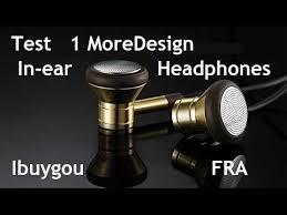 Unboxing <b>1 More</b> Design In-ear Headphones Ibuygou FR - YouTube