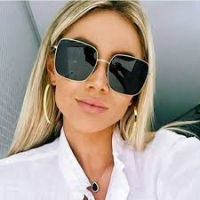 <b>2019 NEW</b> Square Frame Vintage <b>Sunglasses Women</b> Oversized ...