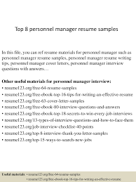 abm security officer sample resume french cover letters grad gate01 thumbnail 4jpg cb 1427854320 top8personnelmanagerresumesamples 150331211112 conversion gate01 thumbnail 4 top 8 personnel manager resume samples