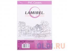 <b>Обложки Lamirel Transparent A4</b>, PVC, прозрачные, 200мкм, 100шт