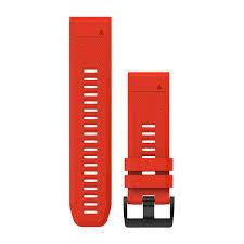 <b>Ремешок сменный</b> QuickFit 26 мм (силикон) красный