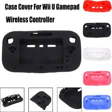 <b>1 PC Silicone Rubber</b> Skin <b>Protective</b> Cover For Wii U Gamepad ...