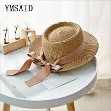 Ymsaid New <b>Summer Sun Hats</b> Women Fashion Girl <b>Straw Hat</b> ...