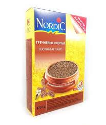 <b>Хлопья гречневые Nordic</b> RAISIO <b>370</b> гр купить с доставкой по ...