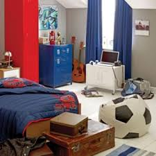 bedroom tremendous cool bedroom ideas for guys with wooden single bed combined blue blanket and barcelona bedroom