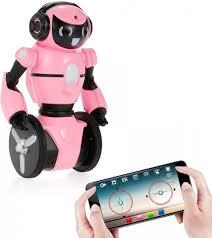 <b>Розовый робот WL toys</b> F4 c WiFi FPV камерой, управление ...