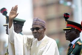 Image result for BUHARI FEEDING DISABLED