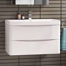 rhodes pursuit mm bathroom vanity unit:  x modern white bathroom vanity unit amp stone countertop basin in home furniture amp diy furniture cabinets amp cupboards ebay