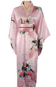 <b>High Quality</b> Pink Japanese <b>Women's Silk</b> Kimono Traditional ...