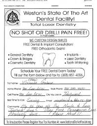 fax broadcast s leads fax sample ads fax advertisements dental exam