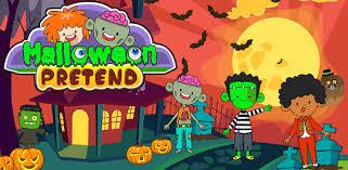 My Pretend <b>Halloween</b> - <b>Trick</b> or Treat Town Friends - Apps on ...