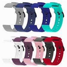 Silicone Sport Strap For <b>Xiaomi</b> Huami <b>Amazfit</b> Bip Smart <b>Watch</b> ...