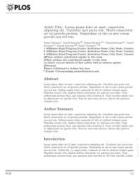 Gallery Photos of Academic Journal Examples Cover Letters