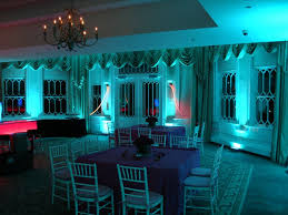 blue wedding reception uplighting blue wedding uplighting