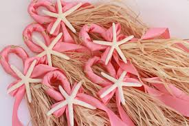 bathroom coral starfish  coral colored wedding starfish decoration zoom