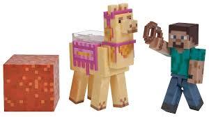 <b>Игровой набор</b> Jazwares <b>Minecraft</b> Стив с Ламой 16602 — купить ...