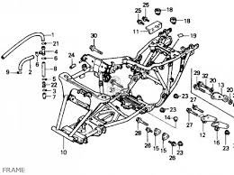 honda fourtrax wiring diagram image 91 honda 300 fourtrax transmission schematics 91 image on 1988 honda fourtrax 300 wiring diagram