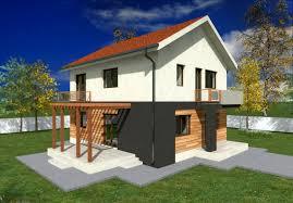 Two Story Small House Plans   Extra Space   Houz Buzz    proiecte de case mici cu un etaj Two story small house plans