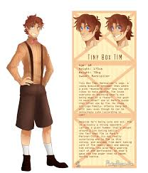 tiny box tim character reference sheet by floatingmegane san on tiny box tim character reference sheet by floatingmegane san