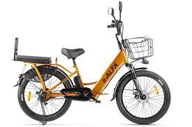 <b>Велогибрид Green City e-ALFA</b> Fat купить в Москве