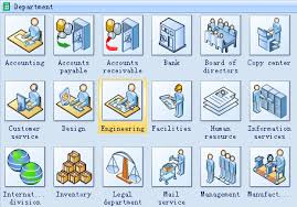 workflow diagram software   create workflow diagrams rapidly with    visio like workflow template