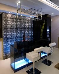 elegant modern home bar design black mini bar home