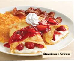 Image result for crepe with fruit topping